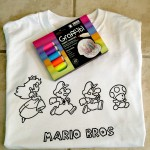 How To Make A Coloring Book Shirt For Kids