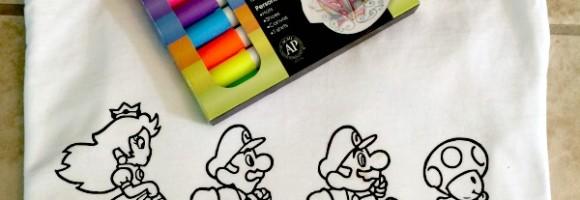 diy coloring book shirt