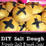 How To Make Salt Dough Pirate Coins