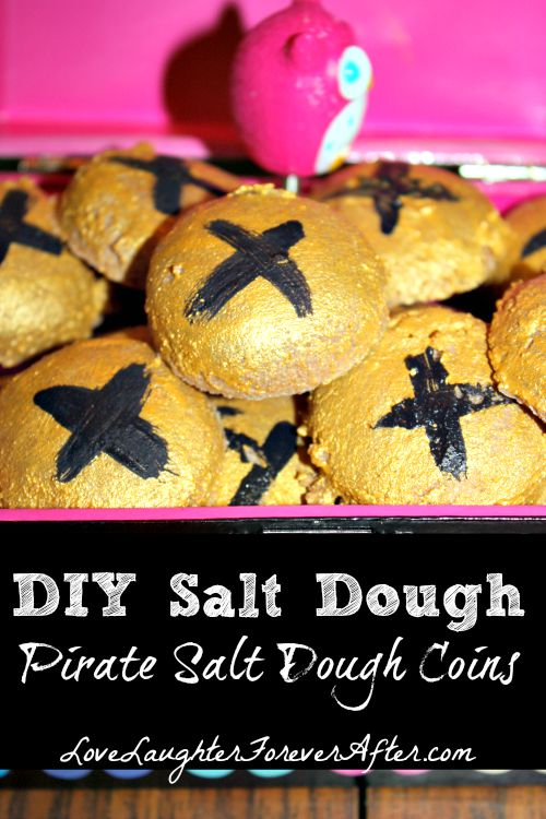 Salt Dough Coins