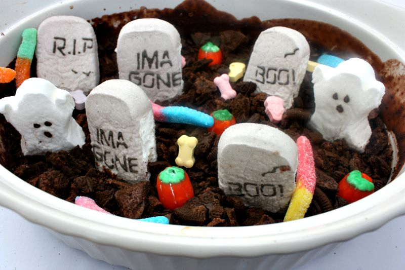 how to make an edible graveyard