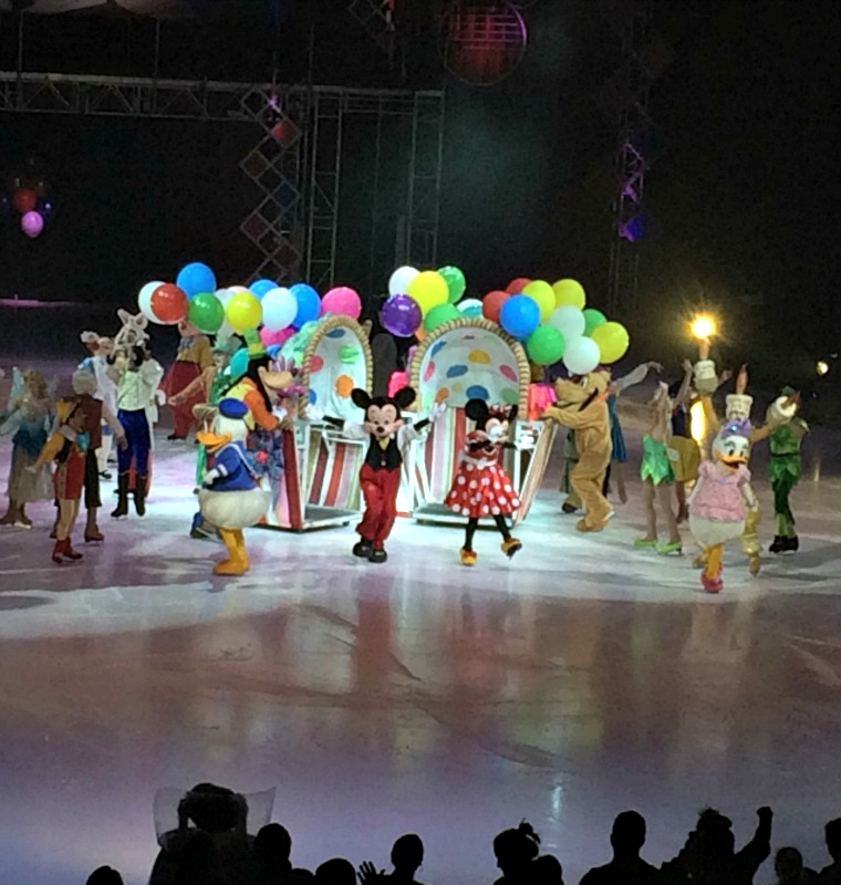 disney on ice opening