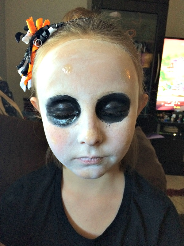 easy halloween make up