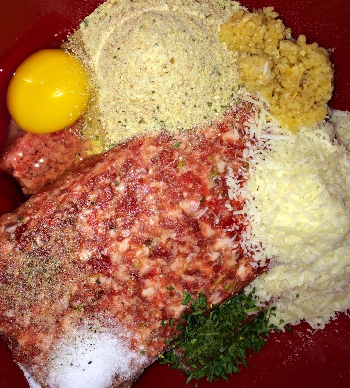 meatball recipe needs