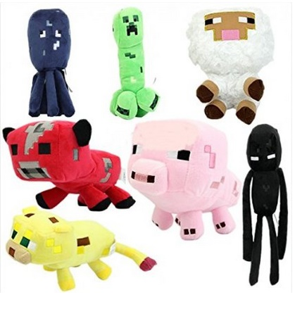 minecraft plush set