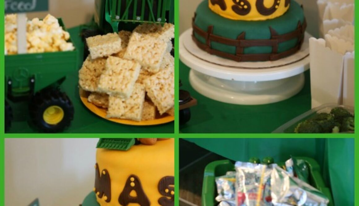tractor birthday party ideas