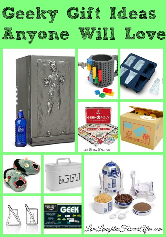 Geeky Gift Ideas Anyone Will Love