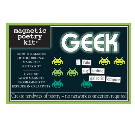 geek magnetic poetry kit