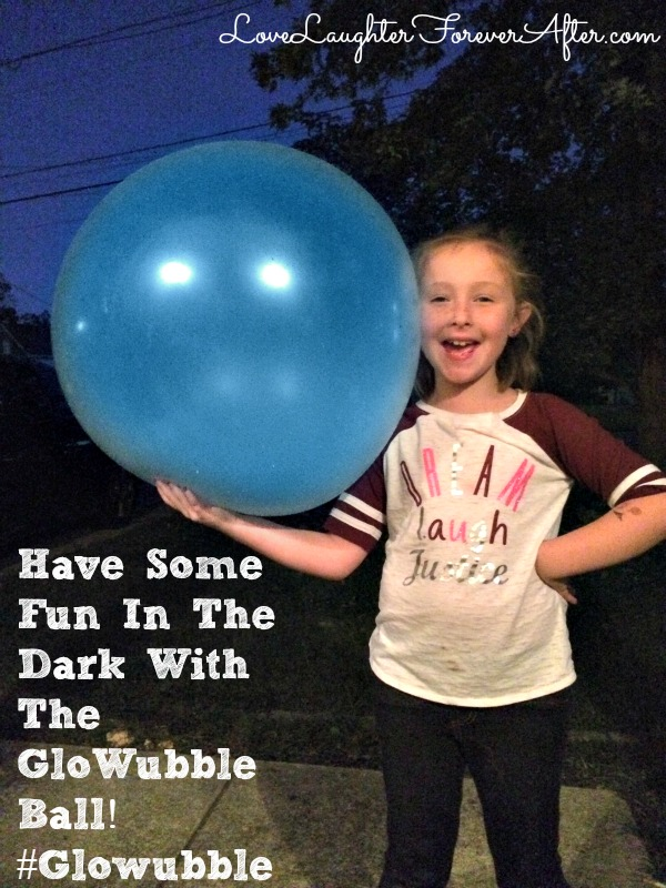 Have Some Fun In The Dark With The GloWubble Ball! #Glowubble