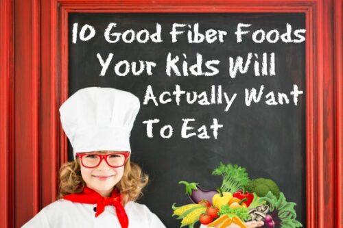10 good fiber foods