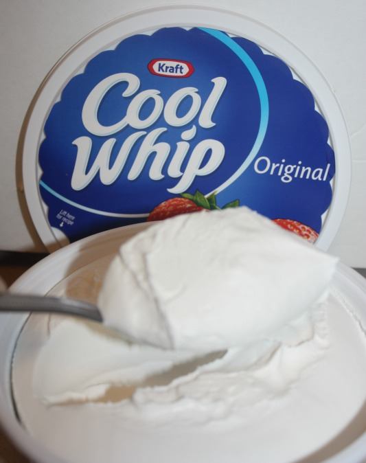 whipped cream for jello treats
