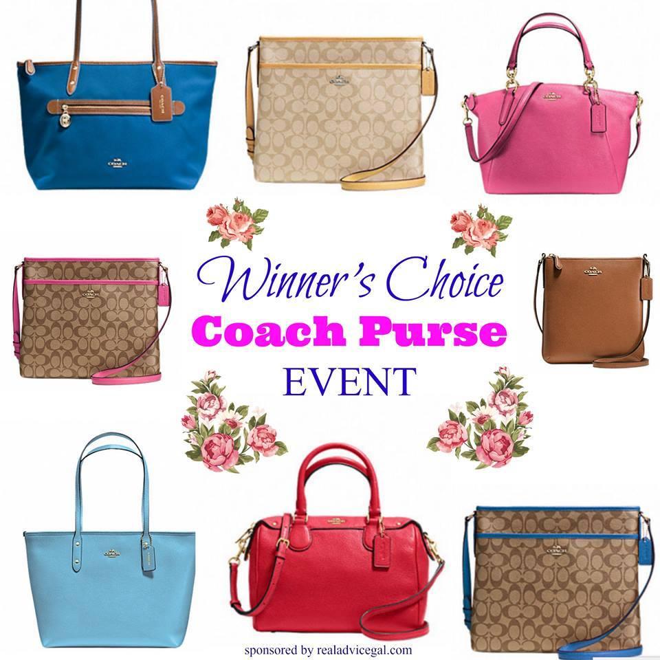 coach purse giveaway