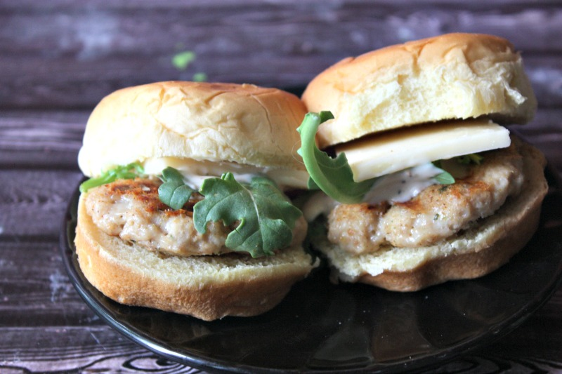 Chicken Ranch Sliders