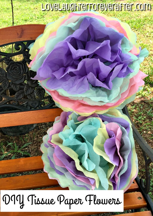 How to make easy tissue paper flowers how to make tissue paper flowers mightylinksfo