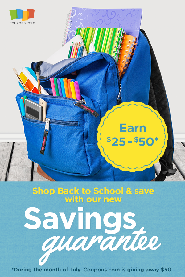 coupons.com back to school savings