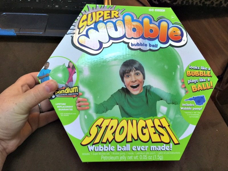 super wubble ball