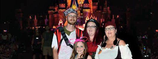 Disney World in the fall