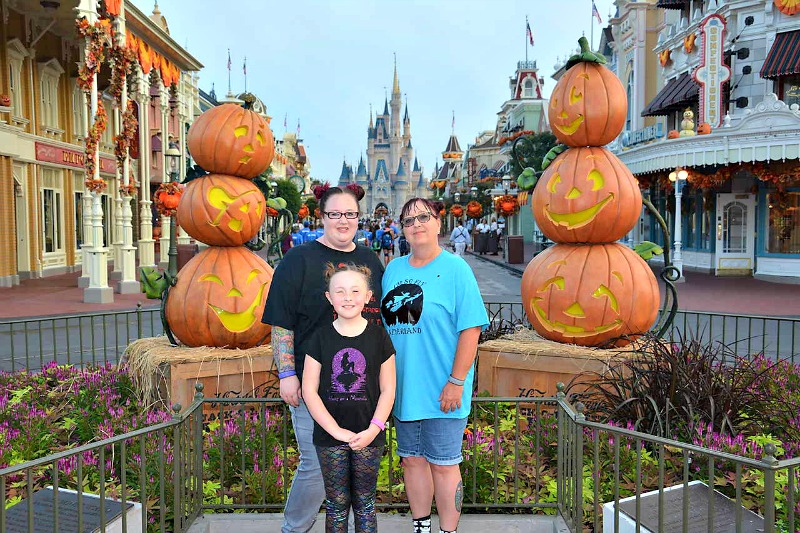 Disney World in the fall season