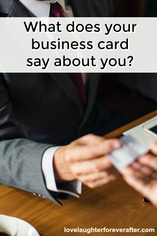 What does your business card say about you? Check out why it's important to make an impression with your business cards.